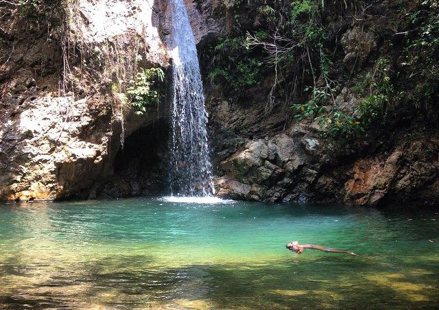 After living in Panama for two years, I was excited to find this secret waterfall, only an hour outside of Panama City.