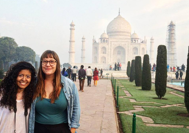 I spent a month in India and on my last day, I saw the Taj and in my opinion, it is worth all of the notoriety that it receives.