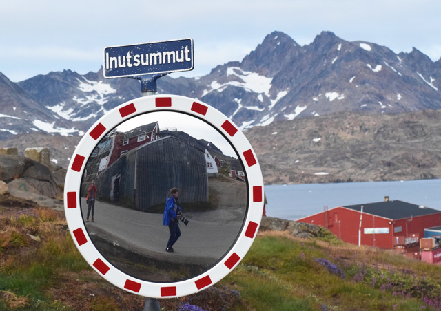 Fun with photography while on a walk around Tasiilaq, Greenland.