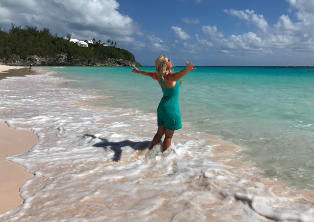 There is something healing and magical about the turquoise waters and pink sand beaches of Bermuda. No place like it on earth!