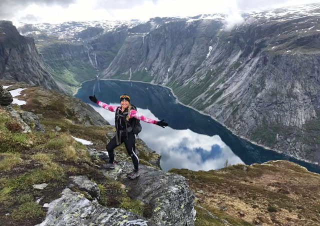 I felt at home hiking and exploring these mountains in Norway!