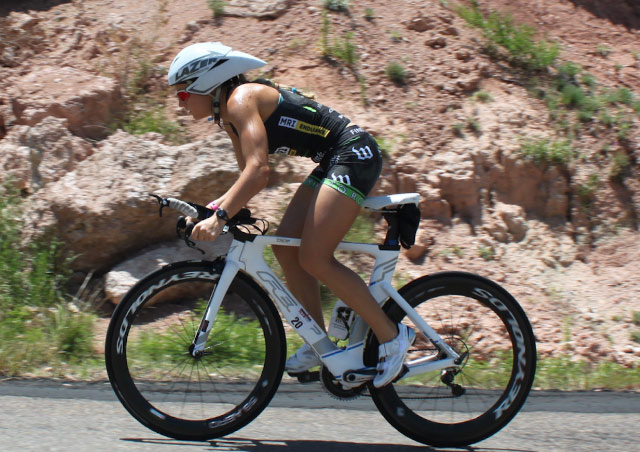 Of the swim, bike and run of an IRONMAN, the bike is definitely my favorite part!