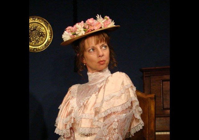 "Playing Gwendolyn in ""The Importance of Being Earnest"""