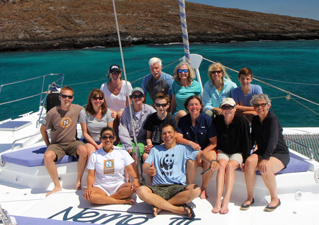 My incredible group that I got share the delights of the Galapagos Islands with! - Nathab's Galapagos Hiking & Kayaking Adventure