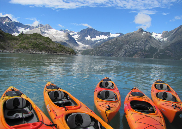 Kayaking in Glacier Bay National Park was one of the many highlights of the adventure! - Nat Hab's Alaska's Inside Passage Wildlife Explorer