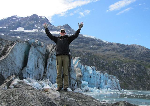 Lamplugh Glacier in Glacier Bay National Park is huge!  - Nat Hab's Alaska's Inside Passage Wildlife Explorer