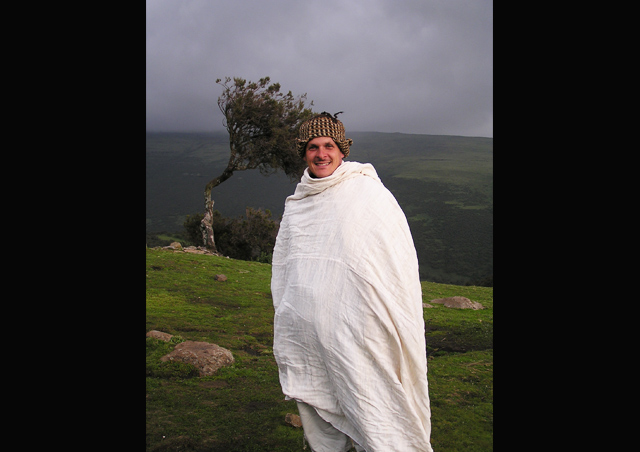 Who knew it could get so cold in the Ethiopian highlands?!? This was the first night on a trek in the Simien Mountains.