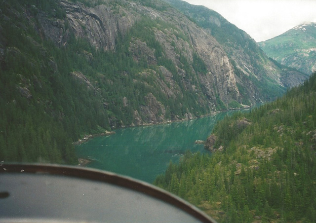 The view from the float plane as we dropped into Ford's Terror Wilderness in southeast Alaska for a week-long kayaking expedition.
