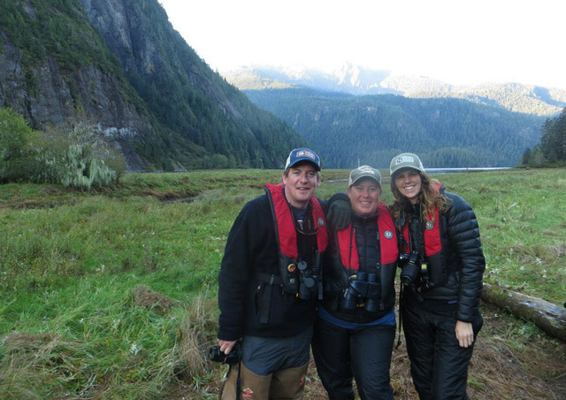 My awesome traveling companions and fellow NHA staff, Mark and Holly!  British Columbia, Canada