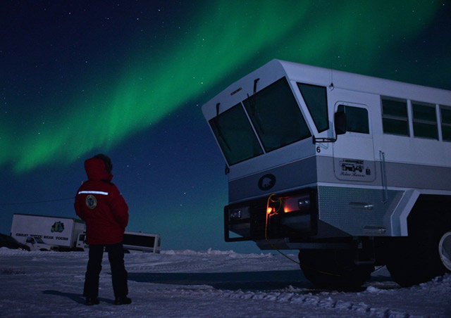 Experiencing the beauty of the Northern Lights in Churchill, Canada