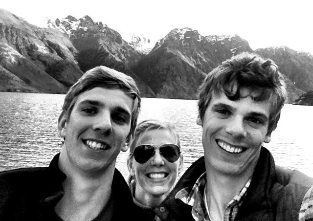 Exploring the South Island of New Zealand with my younger (but much taller) brothers