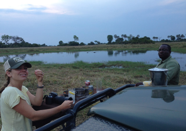 A G&T with a few hippos and an amazing EL is the perfect way to end an evening…