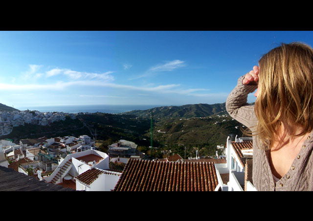 The small village where my husband was born on the Costa del Sol, Spain. Still one of my favorite vacation spots.