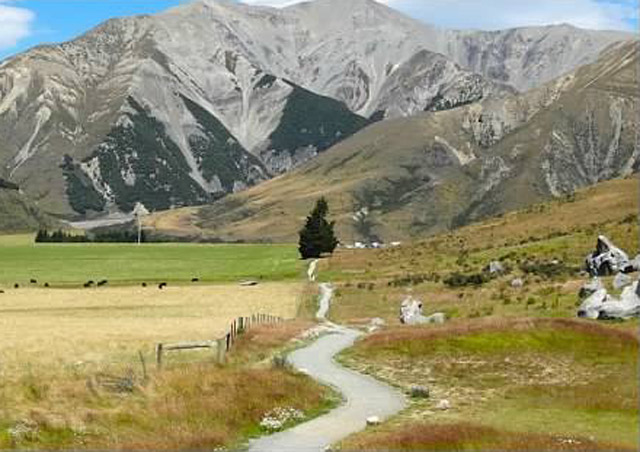 One of the gorgeous landscapes of New Zealand