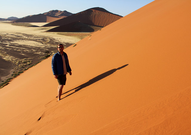 Namibia: Hiking the dunes of Sossusvlei (and then running down!) was a highlight of my first trip to Namibia.