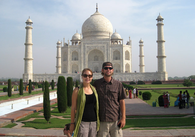 The Taj Mahal is more impressive in person than I ever imagined it would be.  A must stop for any trip to India
