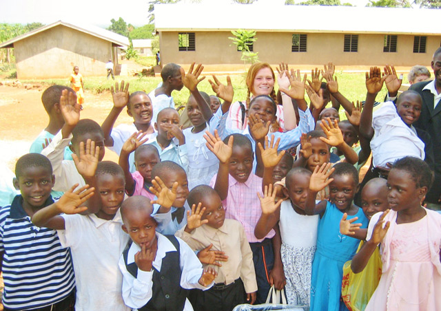 I got to spend my time in Mityana, Uganda with this group of beautiful children.