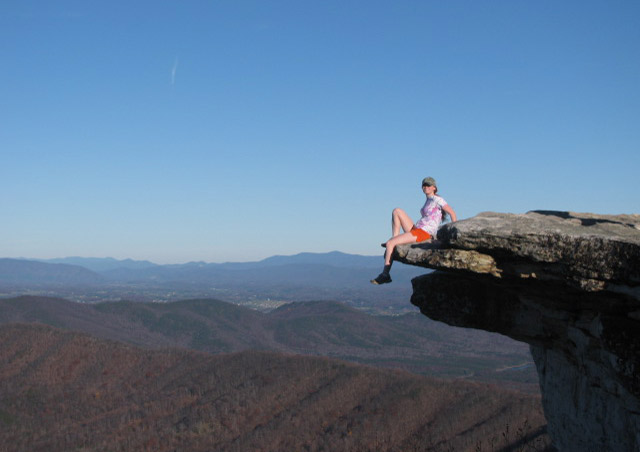 My favorite hike in all of Virginia, McAfee Knob.