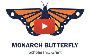 2019 Monarch Butterfly Scholarship Grant Video