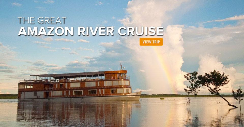 Delfin II riverboat, Amazon River Basin, Peru