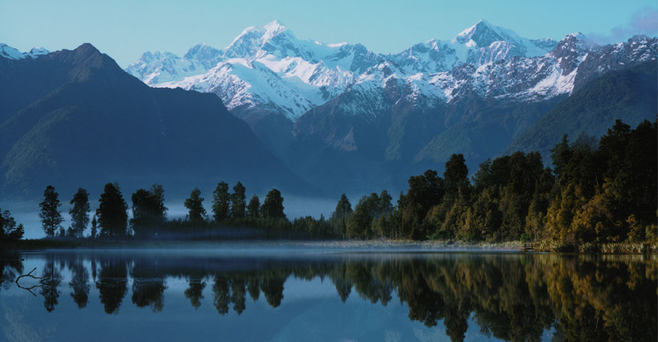 Lake Matteson, South Island, New Zealand