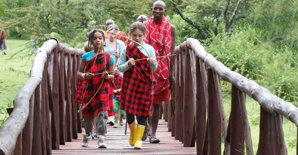 Maasai games, Siana Private Conservancy, Kenya