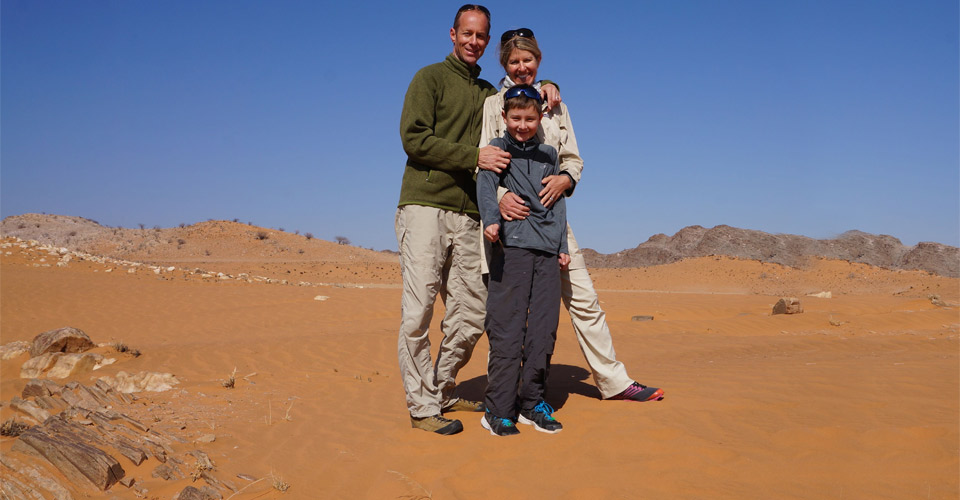 Family Namibia Adventure—Custom Safari