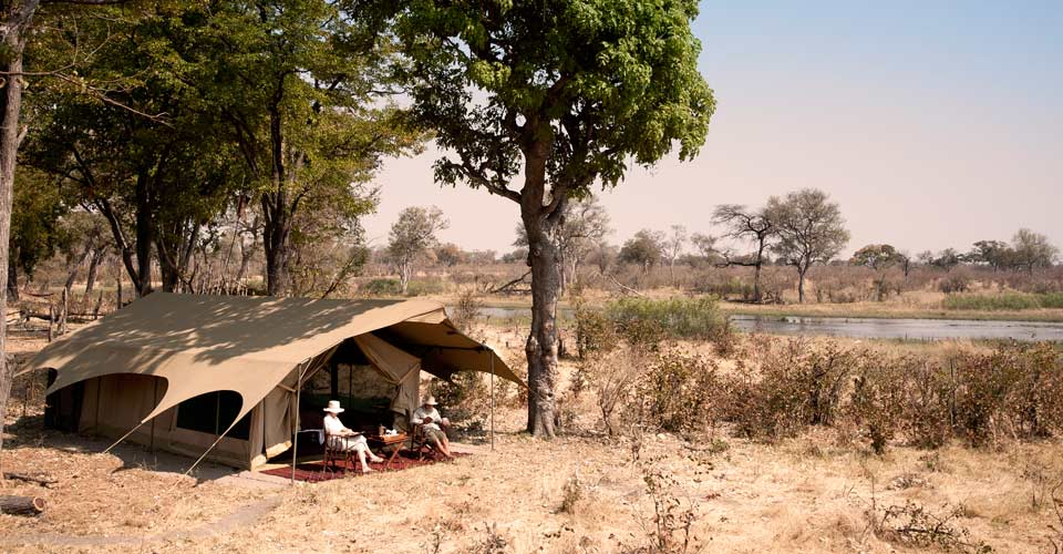 Selinda Explorers Camp, Selinda Private Reserve, Botswana