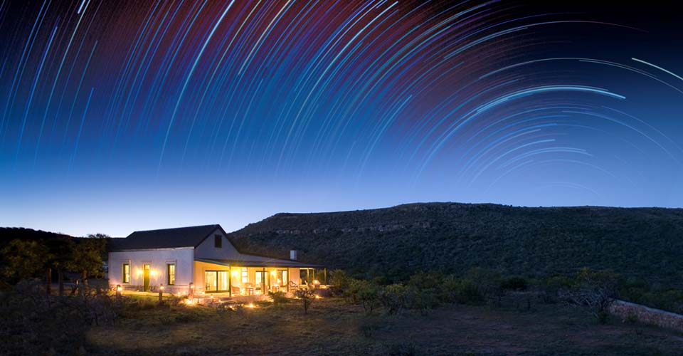 Stargazing, Samara Private Reserve, South Africa