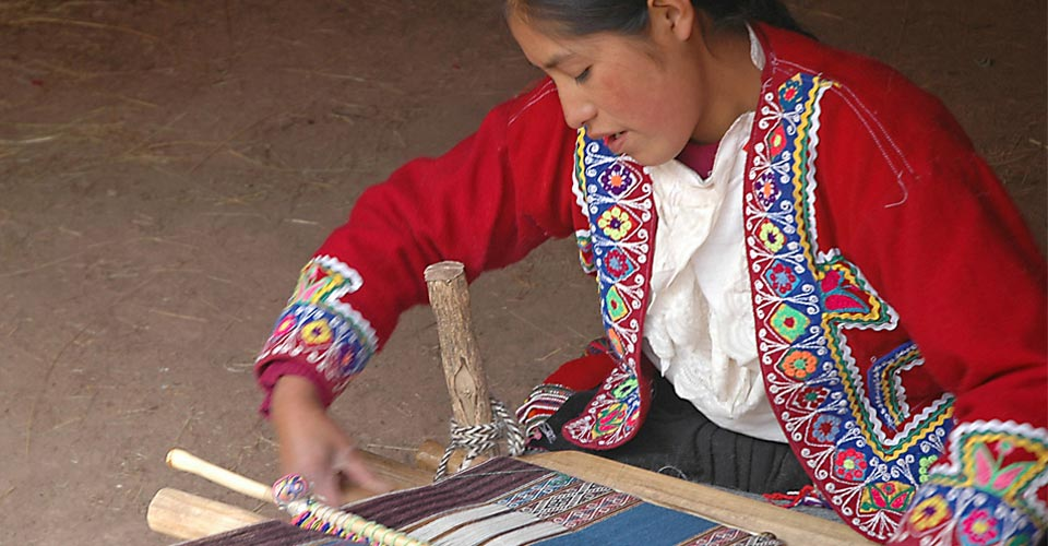 Awanacancha weavers cooperative, Sacred Valley, Peru