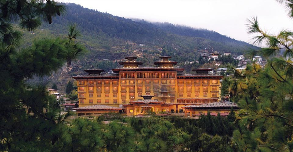 Taj Tashi Hotel, Thimphu, Bhutan