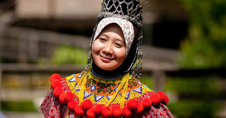 Sarawak Cultural Village, Kuching, Borneo