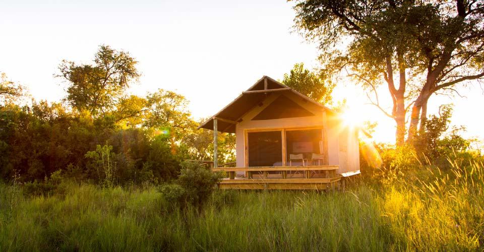 The Jackal & Hide, Khwai Private Reserve, Botswana