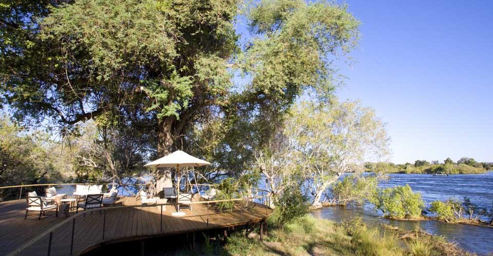Toka Leya Camp, Livingstone, Zambia