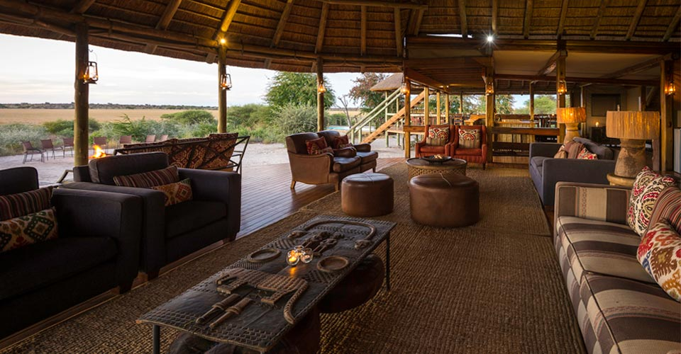Kalahari Plains Camp, Central Kalahari Game Reserve, Botswana
