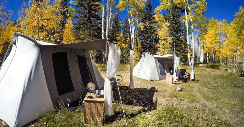 Grand Canyon North Rim Camp, Arizona, United States