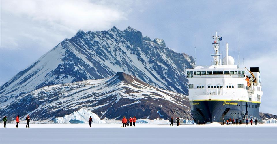 Bourgeois Fjord, Antarctica