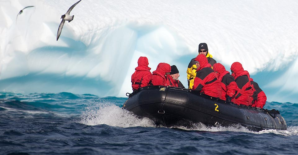 Zodiac excursion, Antarctic Peninsula, Antarctica