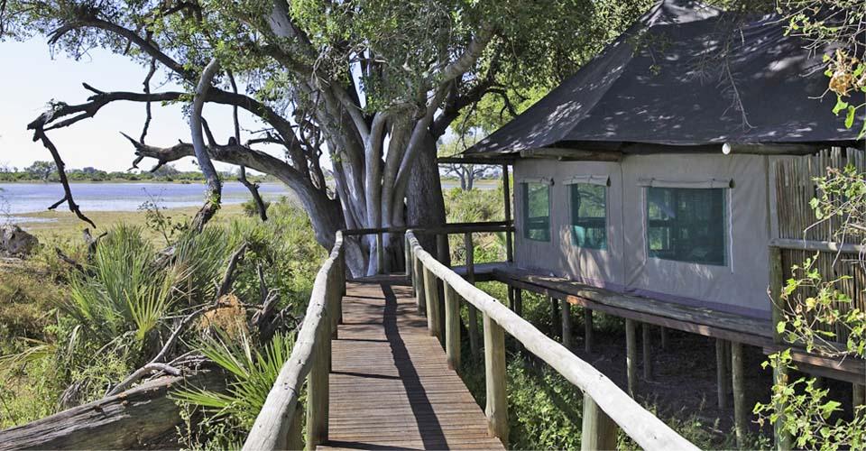 Xigera Camp, Moremi Game Reserve, Okavango Delta, Botswana