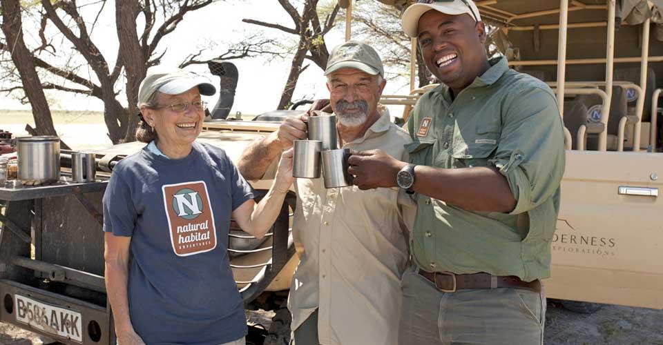 Tea stop, Santawani Private Reserve, Botswana