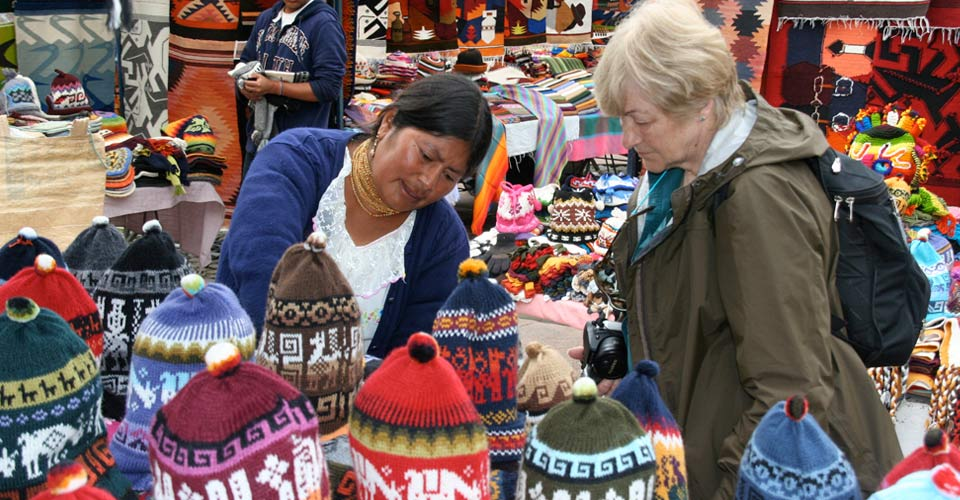 Otavalo Market, Otavalo, Ecuador
