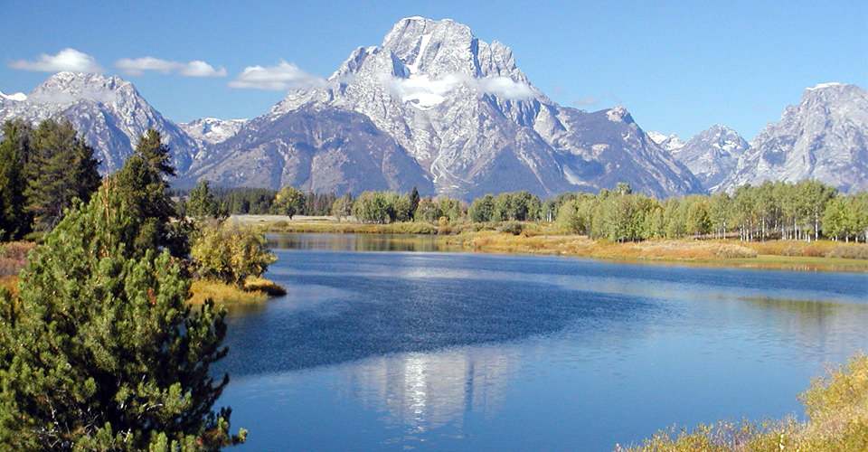 Oxbow Bend, Snake River & The Teton Range, Wyoming, USA
