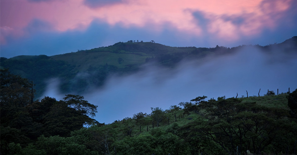 Sunset, Monteverde, Costa Rica