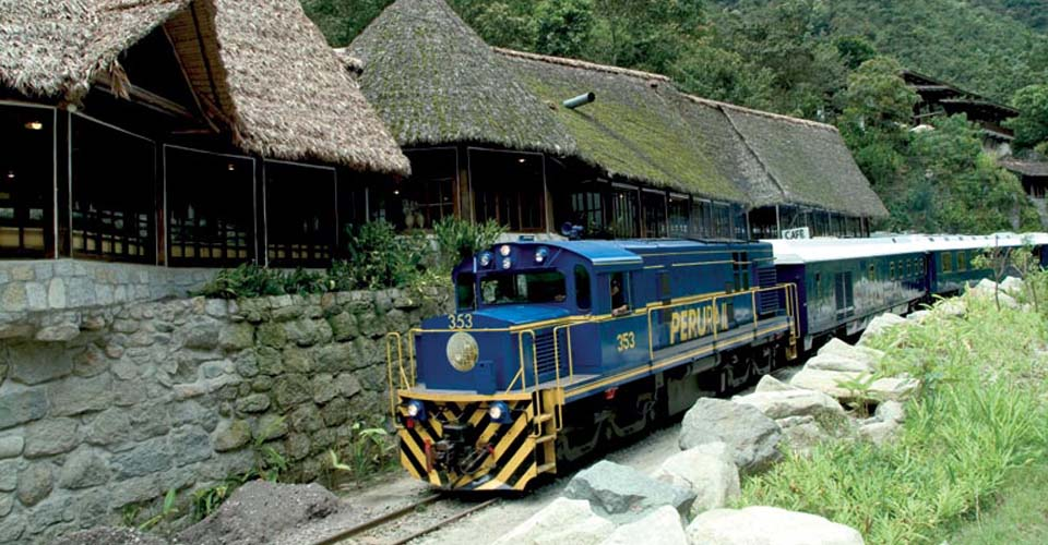 Train to Machu Picchu, Peru