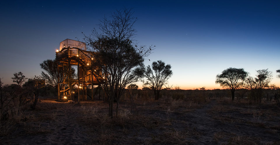 Skybeds, Khwai Private Reserve, Botswana