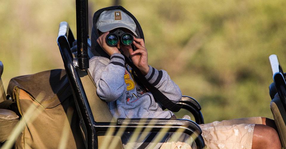 Safari drive, Okavango Delta, Botswana