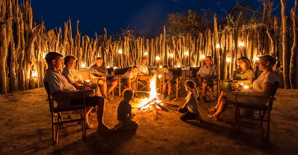 Boma, Seba Camp, Botswana
