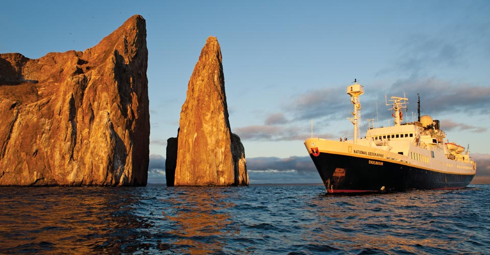 National Geographic Endeavour, Galapagos Islands
