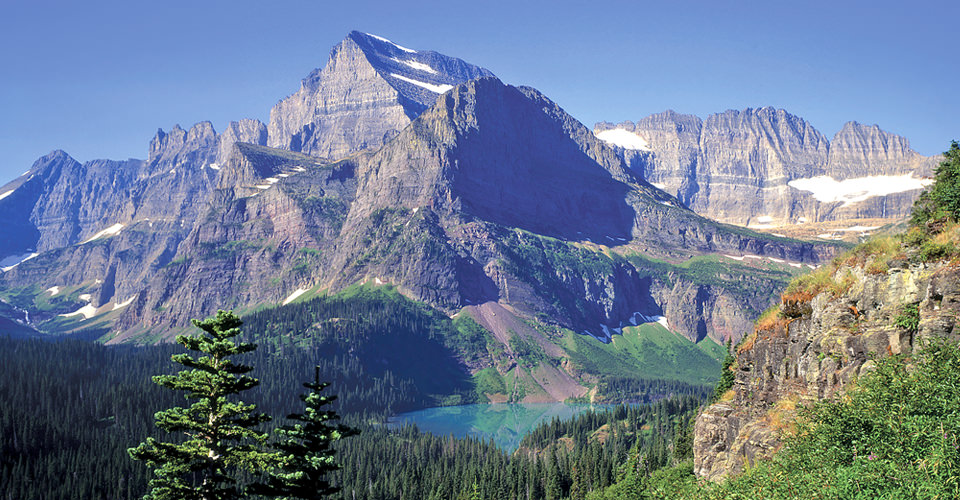 Mt. Gould & Grinnell Lake, Glacier National Park, Montana, USA