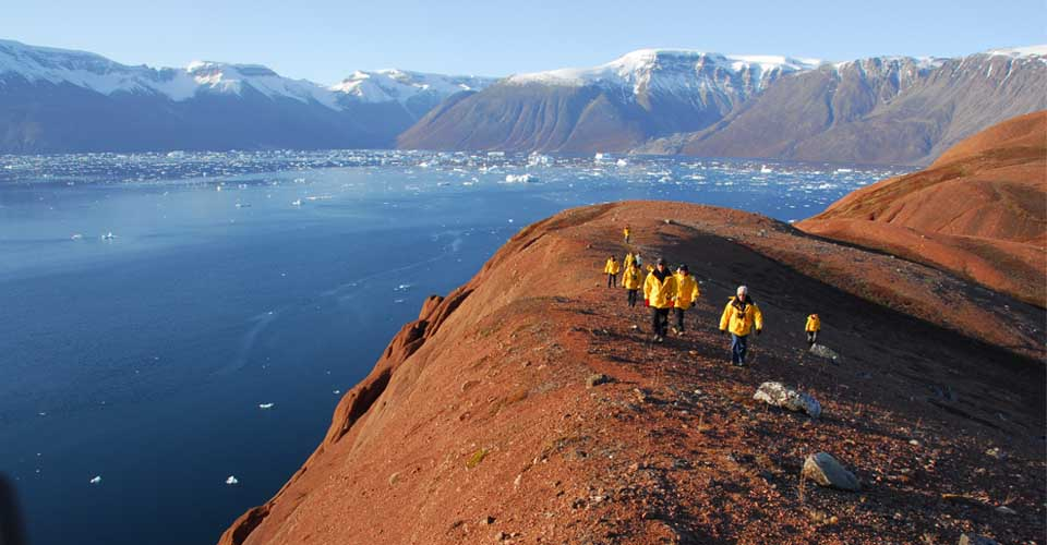 Hiking, East Greenland